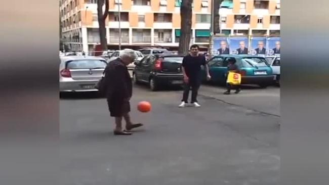 Do You Have The Football Skills Of A Grandmother