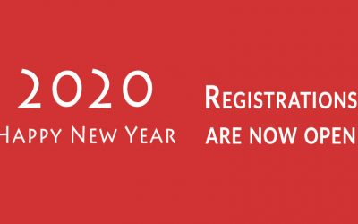 Happy New Year 2020 – Registration Now Open