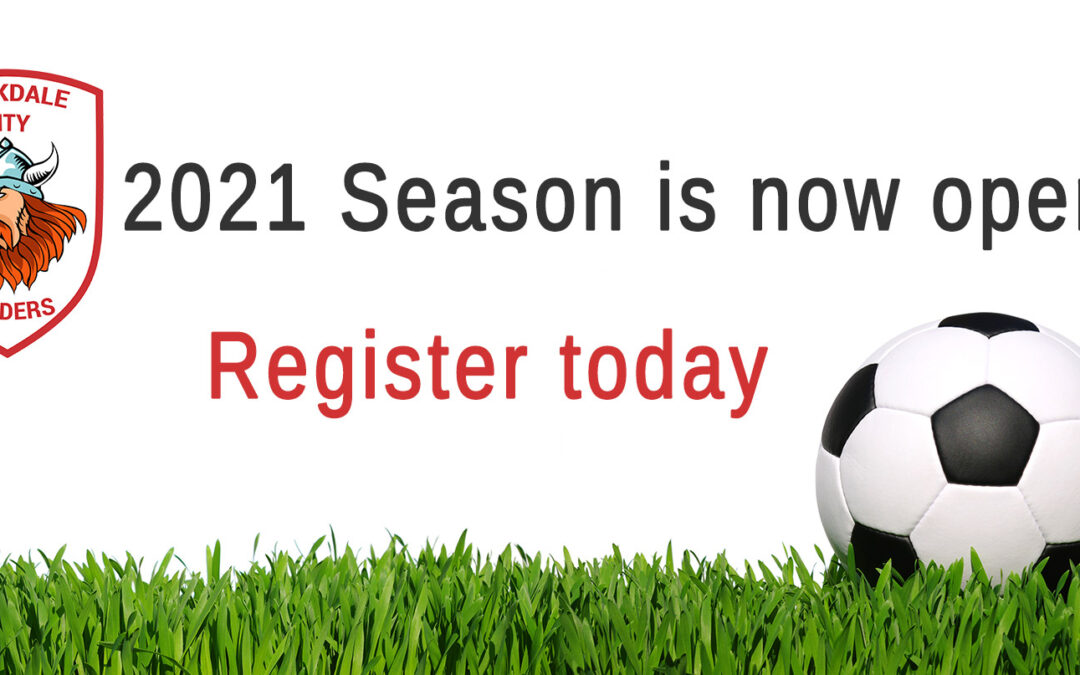 Registrations for the 2021 Season is now open